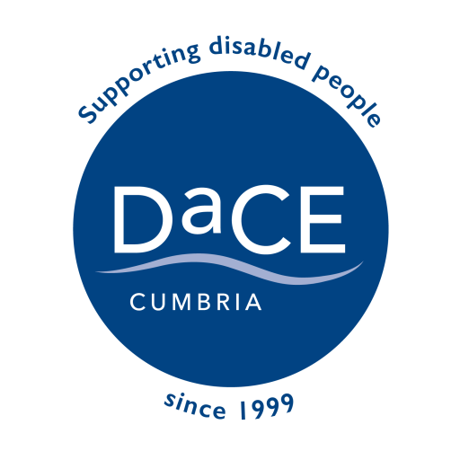 DaCE Cumbria log. #Disability #Cumbria #Independence #Charity