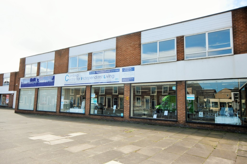 Photograph of DaCE Cumbria's Carlisle Offices. #Carlisle #Charity #Disabilitycharity